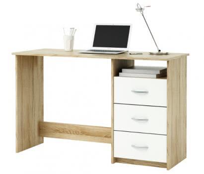 Schreibtisch Aristote Sonoma Eiche/Weiß