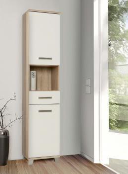 veris badezimmer hochschrank schmal. Black Bedroom Furniture Sets. Home Design Ideas