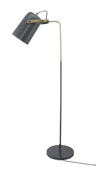 Stehlampe Caricia 487 Grau von Kayoom