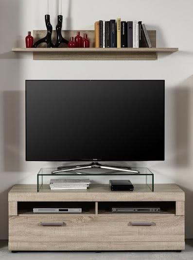 TV-Unterschrank schmal FORA von Trendteam Eiche Sägerau Hell