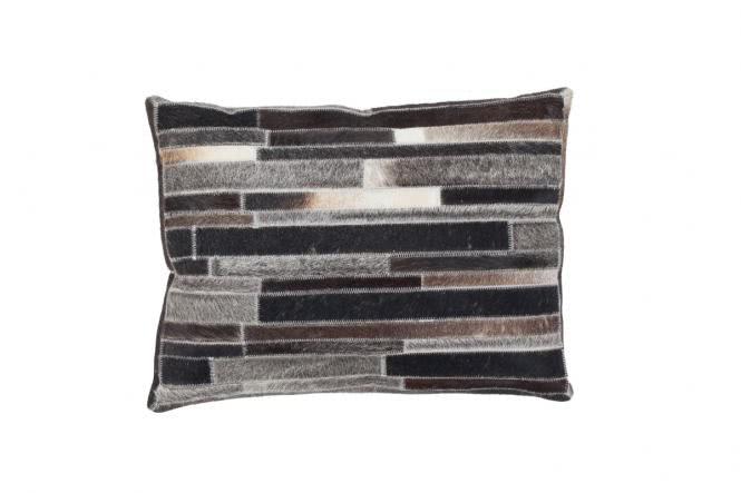40x60 Kissen Lavish Pillow 110 Grau-Braun von Kayoom