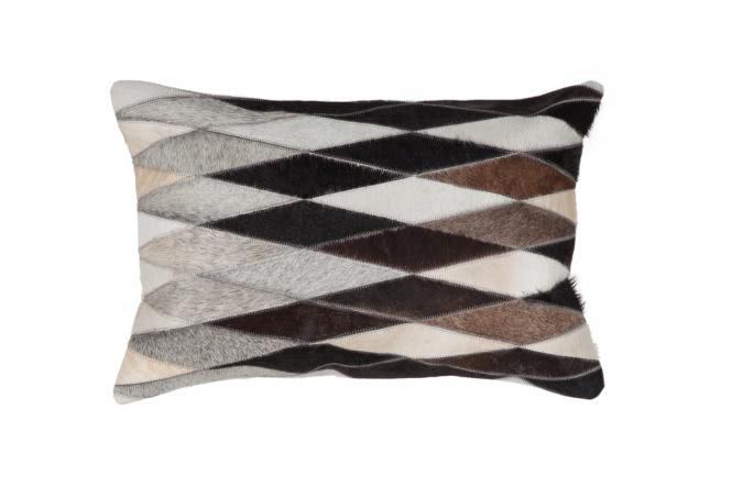 40x60 Kissen Lavish Pillow 510 Grau von Kayoom