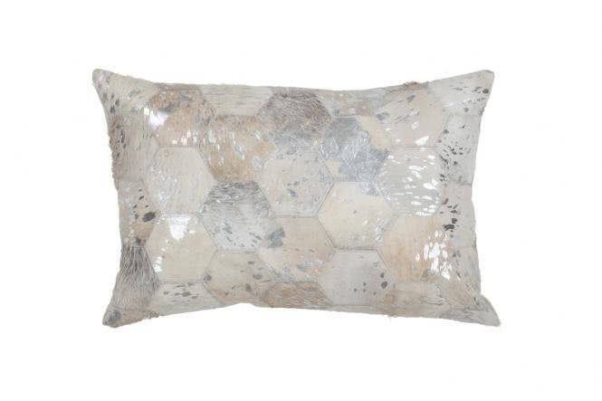 40x60 Kissen Spark Pillow 210 Grau / Silber von Lalee