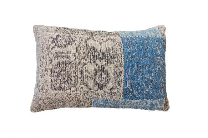 40x60 Kissen Symphony Pillow 160 Blau von Lalee