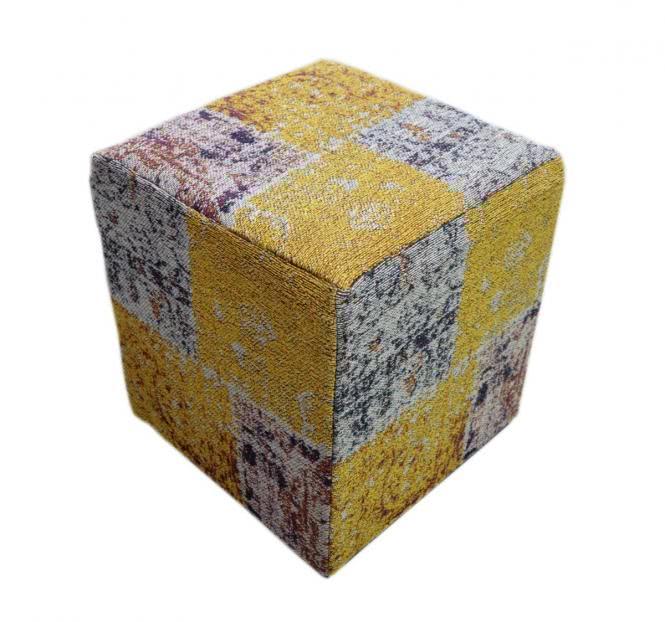 42x45 Kissen Solitaire Pouf 310 Multi von Kayoom