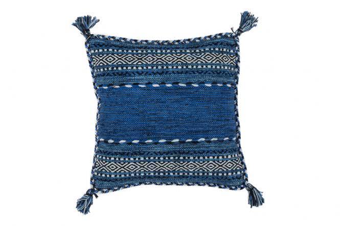 45x45 Kissen Alhambra Pillow 335 Blau von Kayoom