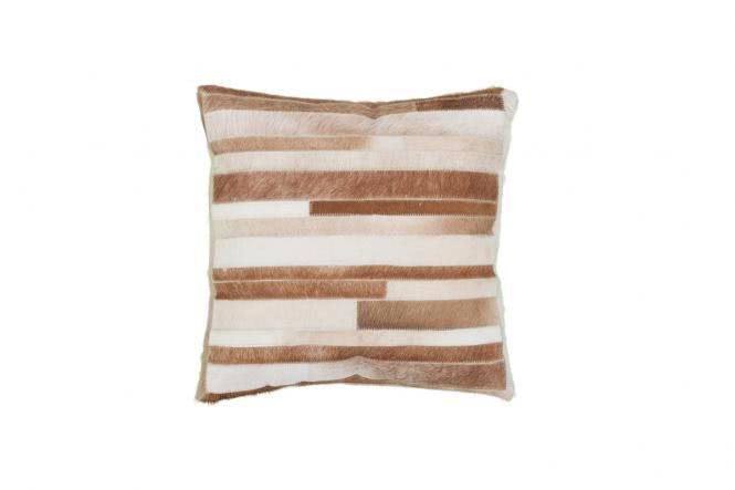 45x45 Kissen Lavish Pillow 110 Creme von Kayoom