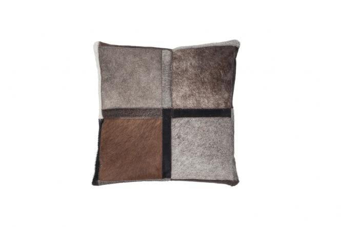 45x45 Kissen Lavish Pillow 410 Grau von Kayoom
