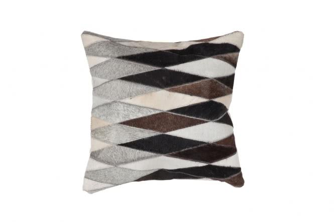 45x45 Kissen Lavish Pillow 510 Grau von Kayoom
