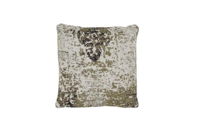 45x45 Kissen Nostalgia Pillow 285 Olive von Kayoom