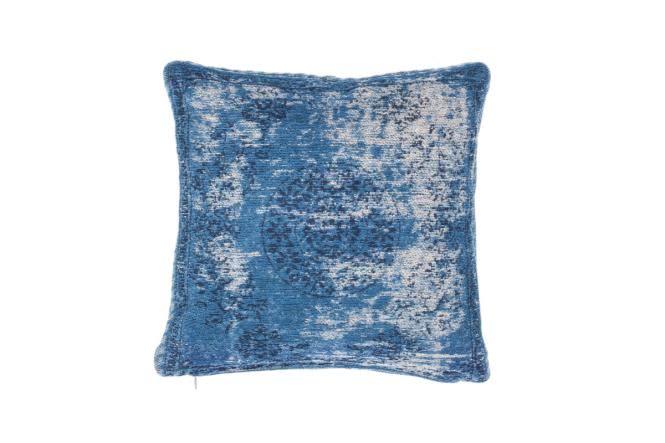 45x45 Kissen Nostalgia Pillow 385 Blau von Kayoom