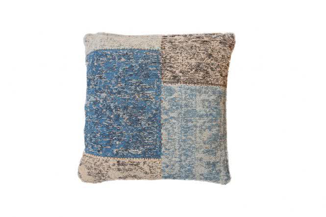 45x45 Kissen Symphony Pillow 160 Blau von Lalee