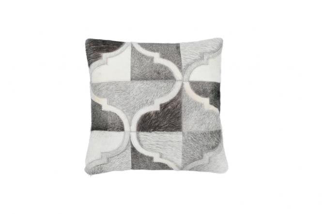 45x45 Kissen Lavish Pillow 310 Grau von Kayoom