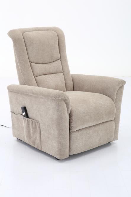 TV-Sessel einmotorisch inkl Aufstehhilfe u Relaxfunktion FM-553L von FEMO Beige