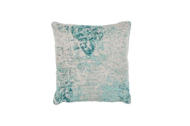 45x45 Kissen Nostalgia Pillow 275 Türkis von Kayoom