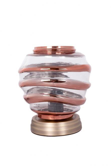 Tischlampe Aladin III 720 Champagner / Kupfer von Kayoom