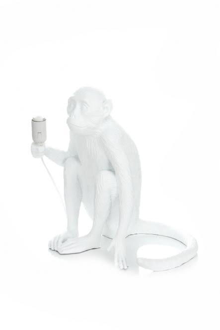 Tischlampe Chita 110 Weiß von Kayoom