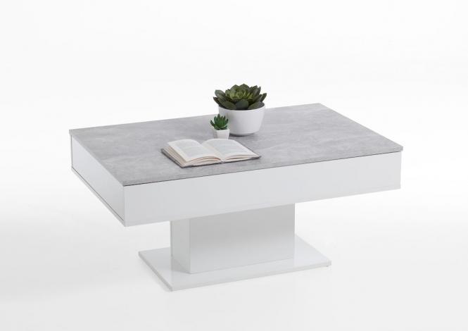 Tisch Beistelltisch Couchtisch Tim II 4 verschiedene Farben,Ablage Sofatisch