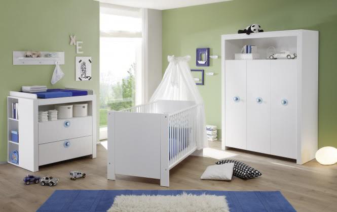 Babyzimmer 3-tlg OLIVIA von Trendteam Weiss
