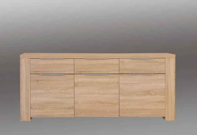 Sideboard ca. 189 cm breit CALPE von Forte Sonoma Eiche