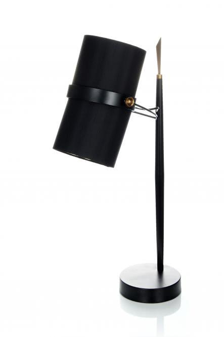 Tischlampe Novum 110 Schwarz von Kayoom