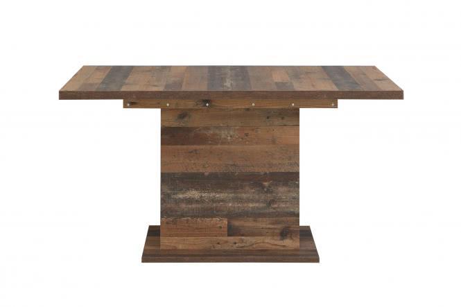 Esstisch ausziehbar CLIF von Forte Old-Wood Vintage