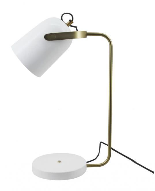 Tischlampe Caroline 287 Weiß von Kayoom