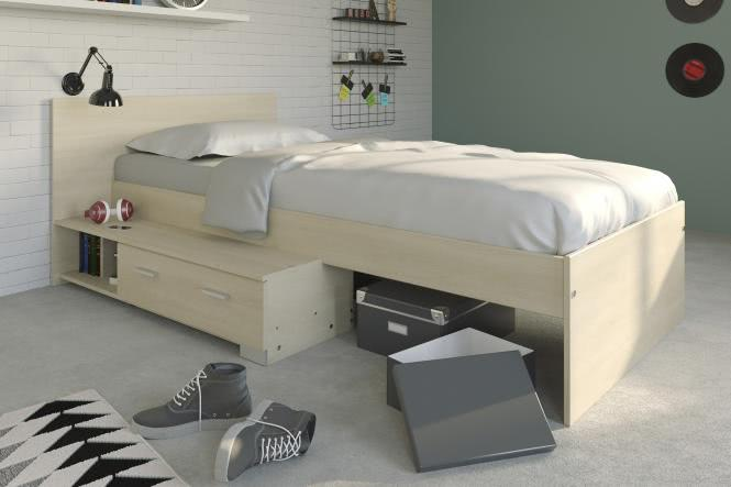 kinderzimmer kombination inkl 90x200 stauraumbett fs inspire. Black Bedroom Furniture Sets. Home Design Ideas