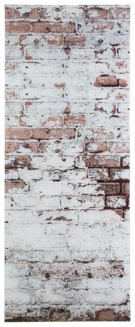 Glasgarderobe FELIX ca. 50x125 cm Motiv: Mauer von Spiegelprofi | Flur & Diele > Spiegel > Garderobenspiegel | wohnorama DE