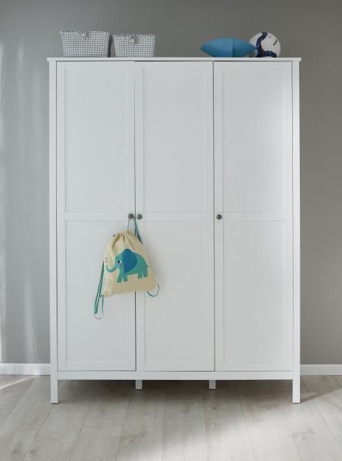 Kleiderschrank 2-trg Ole von Trendteam Weiss