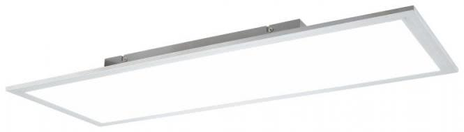 LED Deckenleuchte 30x80 cm PANELO von Nino Titanfarbig