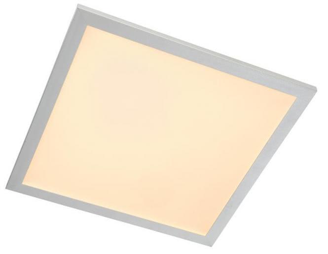 LED Deckenleuchte 60x60 cm PANEL von Nino Titanfarbig / Weiss