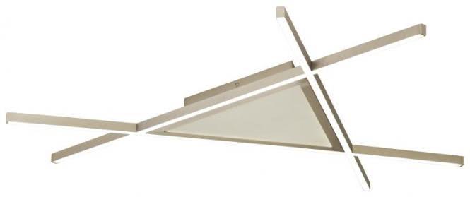 LED Deckenleuchte 84x84 cm SQUARE von Nino Nickel matt