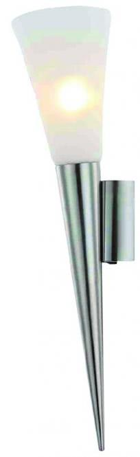 LED-Wandleuchte 1-flg RADUZ von Nino Nickel matt / Opal matt Weiss
