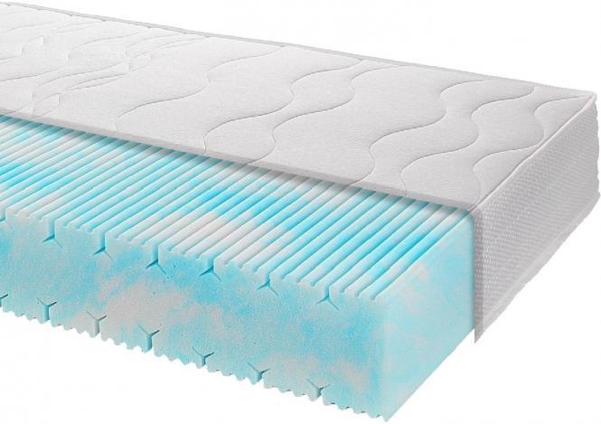 90x200 nachhaltige Matratze LLQ® Cotton Clean 18 H2 von Breckle
