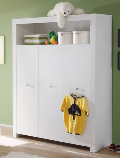 Kleiderschrank OLIVIA von Trendteam Weiss