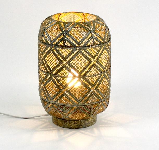 Tischleuchte Siam 30 cm hoch Gold von Werner Voss