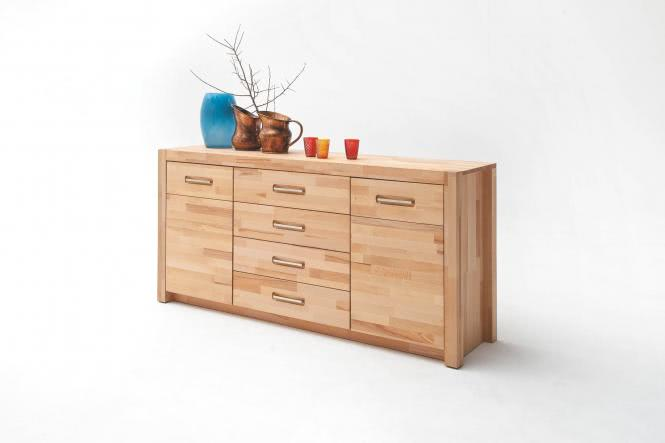 Sideboard 2-trg 4 Schubkästen FENJA von MCA Furniture Kernbuche