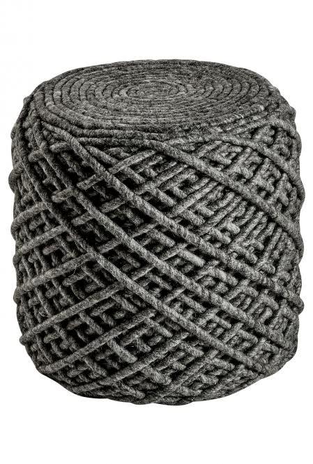 Sitzkissen / Pouf Royal 888 von Obsession graphite