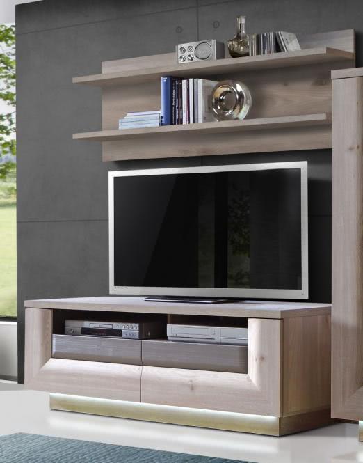 TV-Unterschrank inkl. Sockelbeleuchtung Nelsone...