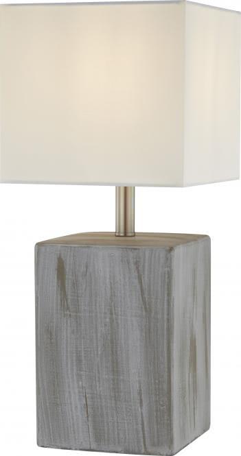 Tischleuchte 1-flg ca. 42 cm hoch SEA von Nino Keramik grau