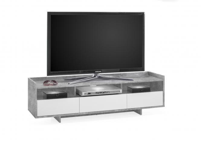 mehr zu kauf unique tv unterteil ghost von stolkom beton weiss