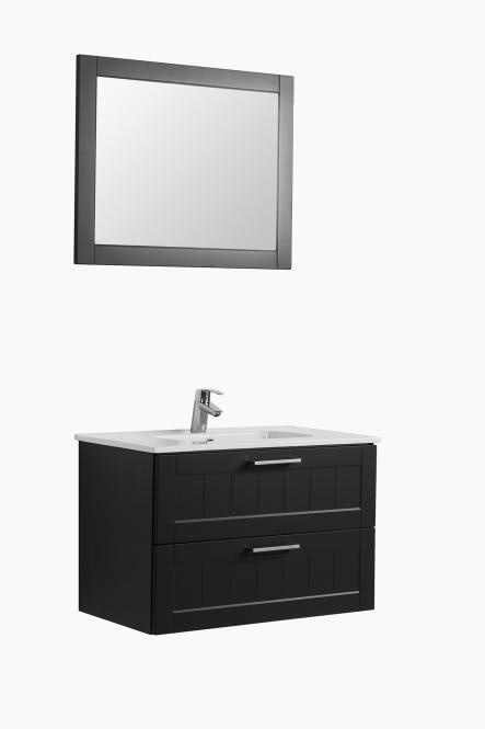 Waschtisch-Set 80 Barolo von Held Möbel Grau