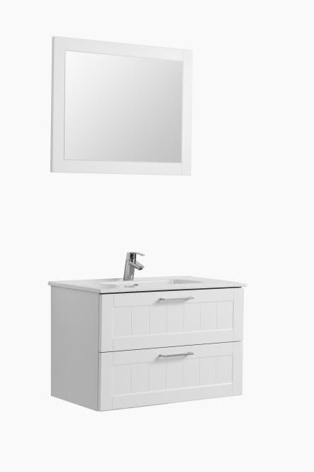 Waschtisch-Set 80 Barolo von Held Möbel Weiß
