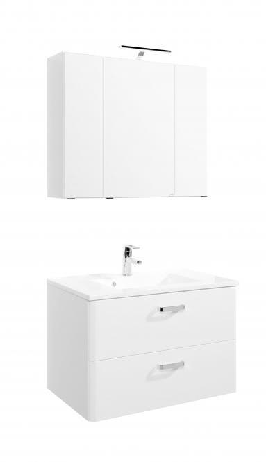Waschtisch-Set 80 Phoenix von Held Möbel Weiß