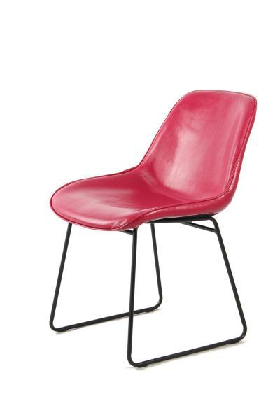 Stuhl 2er-Set Cora 110 Pink / Rot von Kayoom