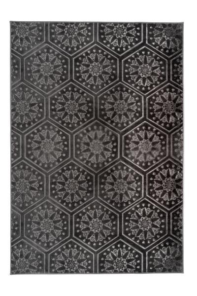 120x170   Teppich Monroe 200 Anthrazit von Arte Espina
