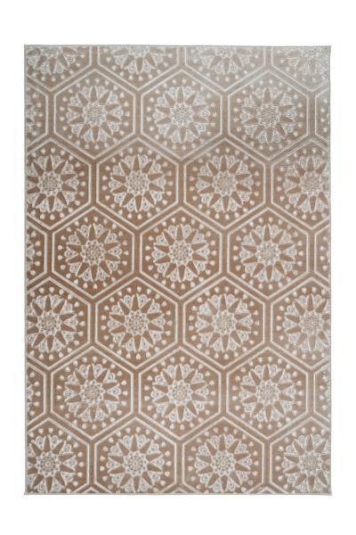 120x170   Teppich Monroe 200 Taupe von Arte Espina