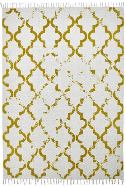 120x170 Teppich My Stockholm 341 von Obsession mustard