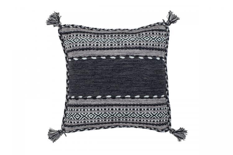 45x45 Kissen Alhambra Pillow 335 Grau von Kayoom